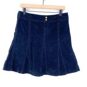 Athleta Black Corduroy Whenever Skirt Size 6